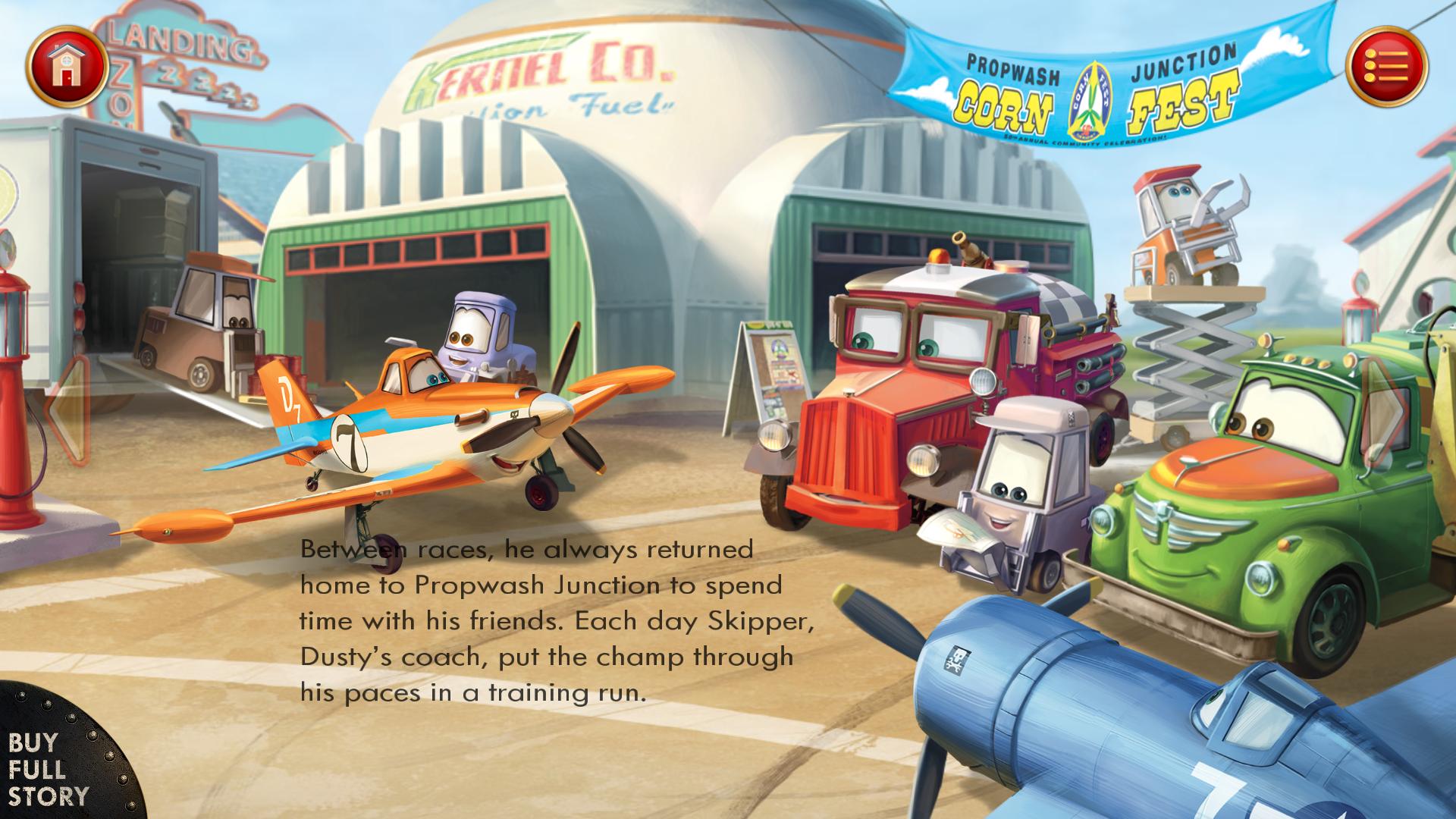 交互式电子书类型游戏 飞机总动员:火线救援