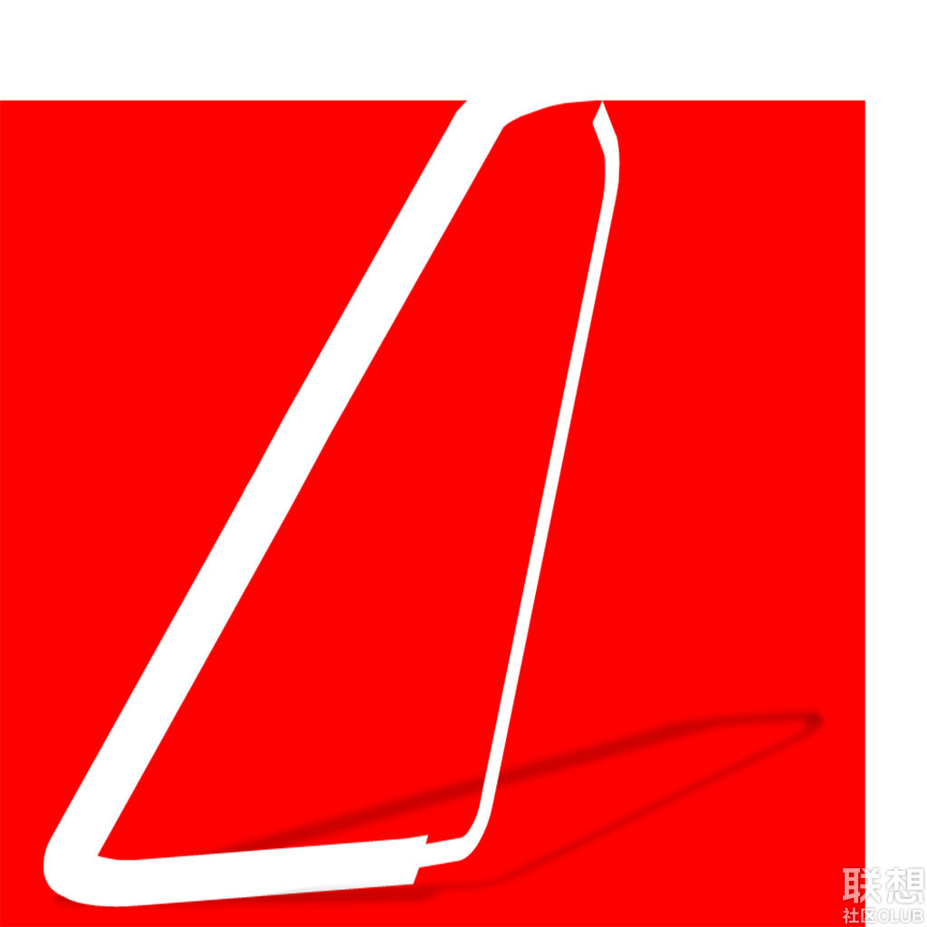 """红色的底色,代表了社区的火热和社区人的激情;粗线条的""""l"""",则是取了"""""""