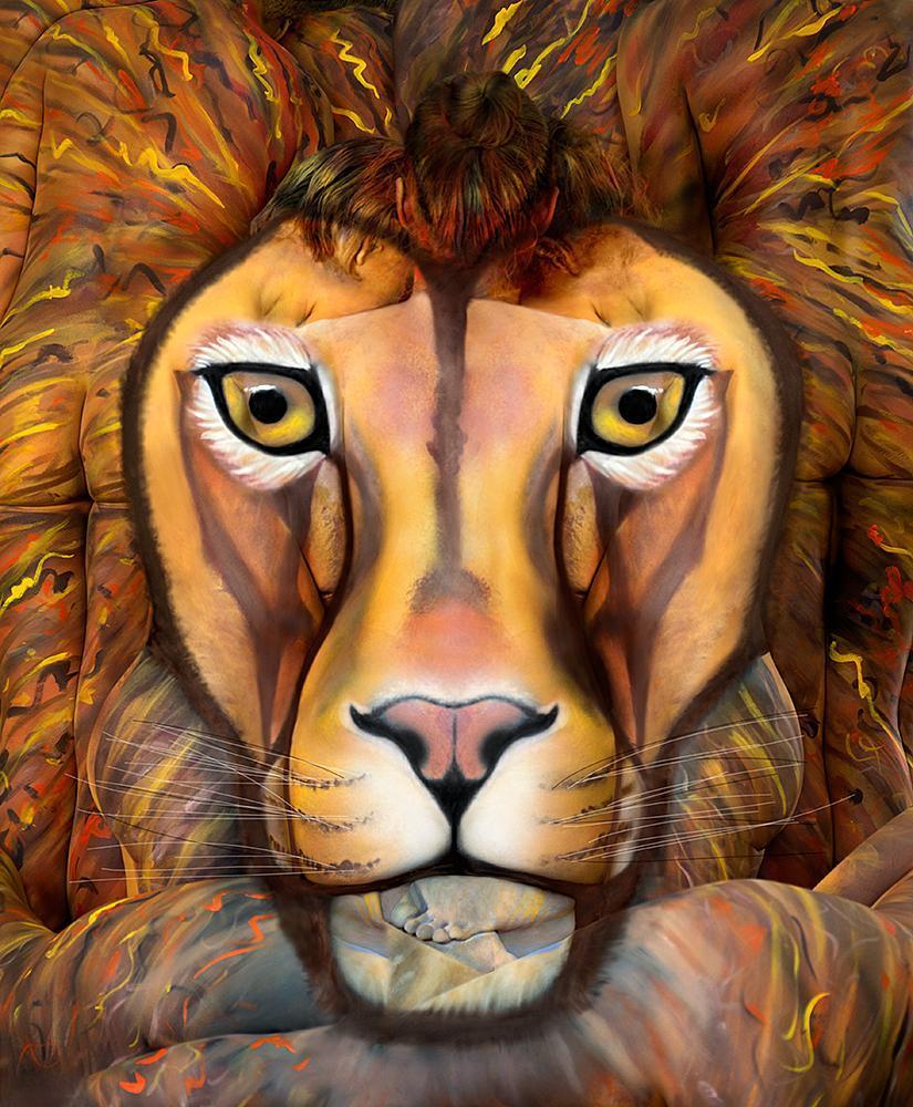 美国rtys_22日报道,美国纽约人体彩绘师trina merry推出了新作品.