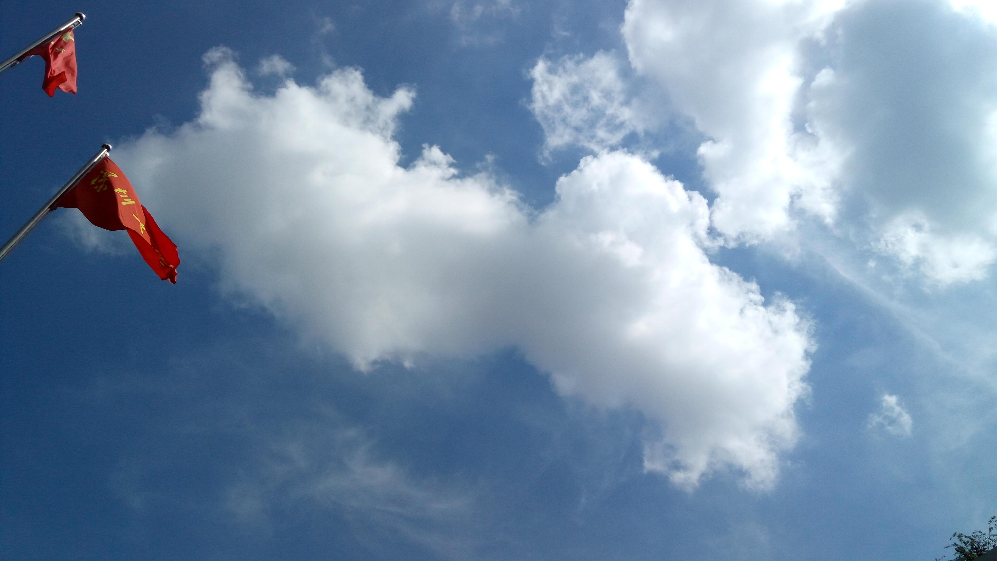【毕业季的天空】-【随手拍】论坛-手机乐粉家-联想