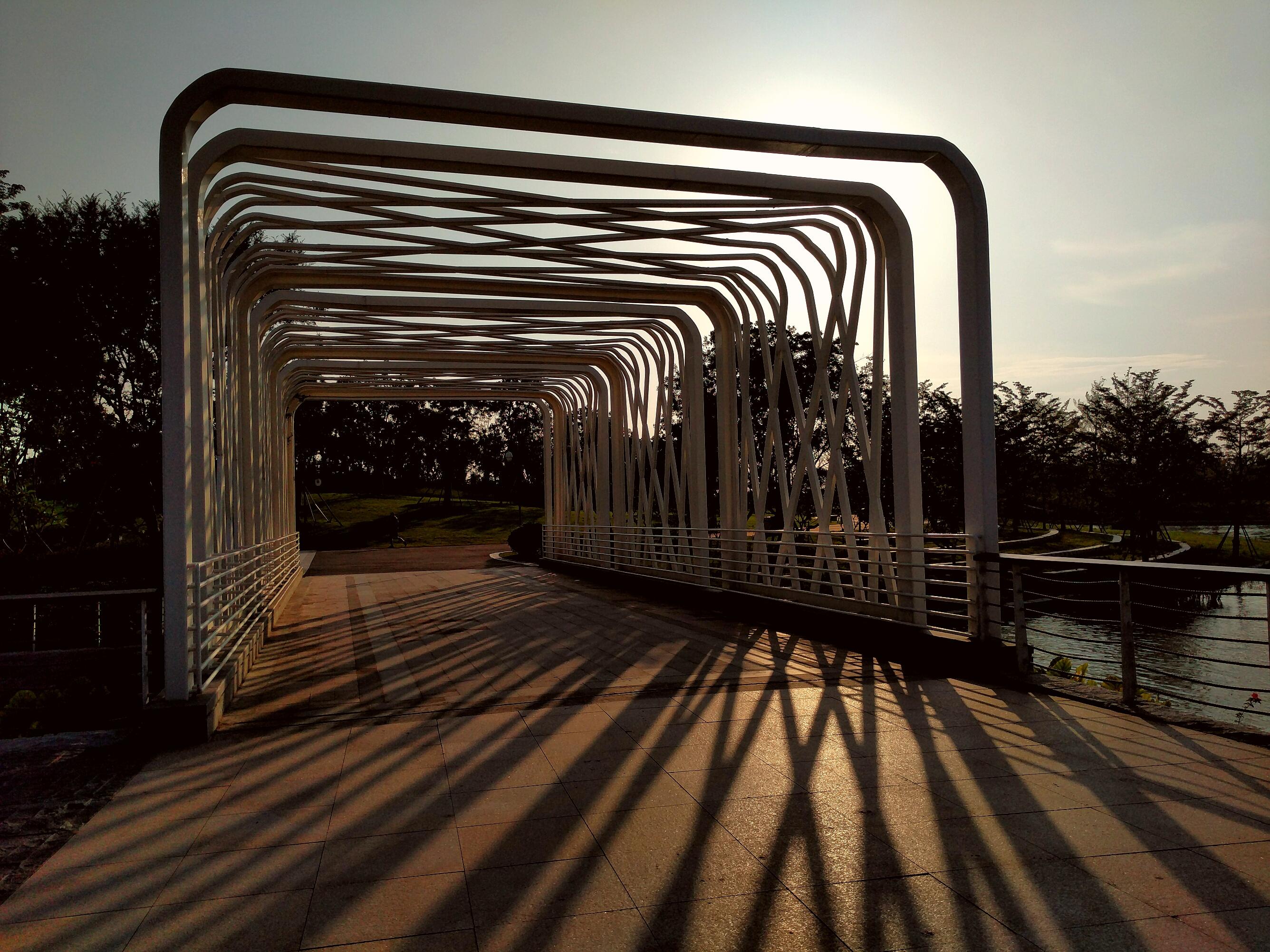 海丝艺术公园黄昏