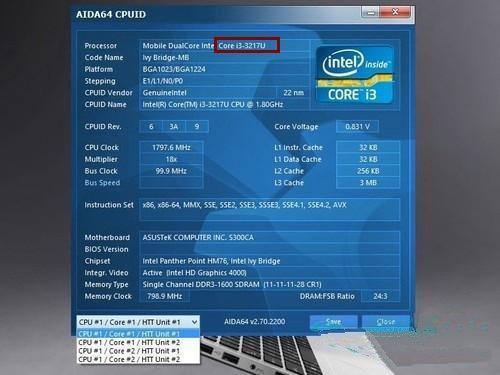 笔记本CPU低压和标压有什么区别?