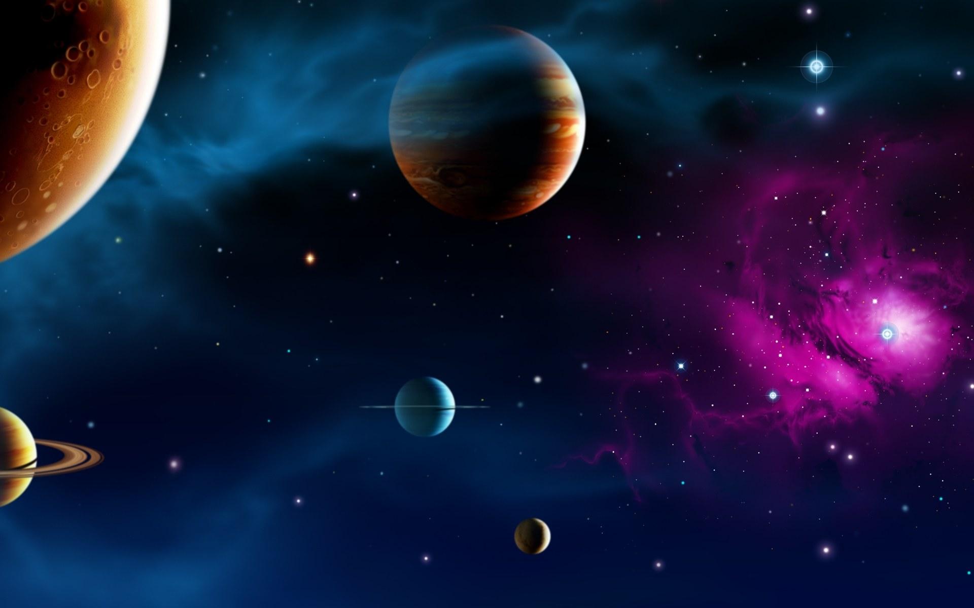 【【共享壁纸】 小清新 宇宙 二次元 奇景 简洁 (联想